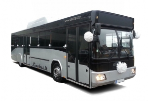 autobusas vestuvėms