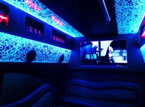 limobusas interjero spalvos