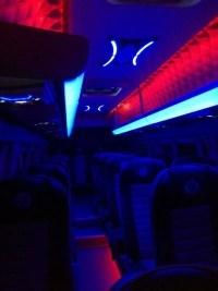 20 vt mikroautobusas tamsoje viduje