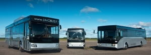 Larger limobuses for airport transfers