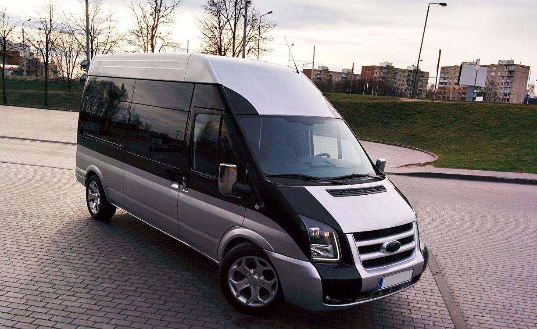 16 vt. Mikroautobusas vestuvems Ford